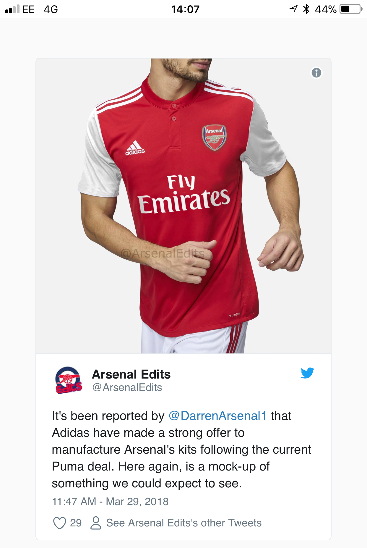 Arsenal sign five year kit deal with Adidas from 2019 - The Arsenal ... 2fb5503b2